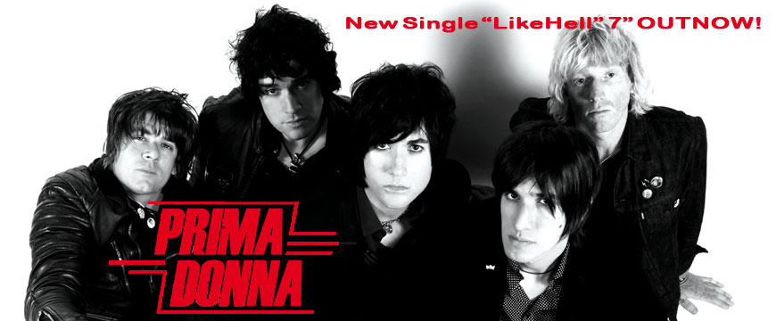 PRIMADONNA – new single 7″
